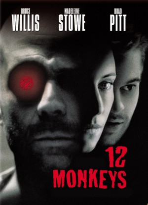 12 Monkeys / Twelve Monkeys / Двенадцать обезьян (1995) DVD9