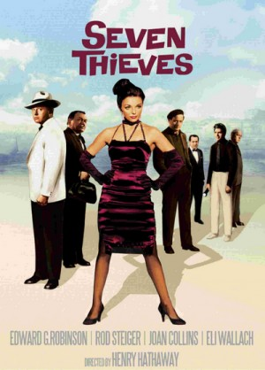 Seven Thieves (1960) DVD9