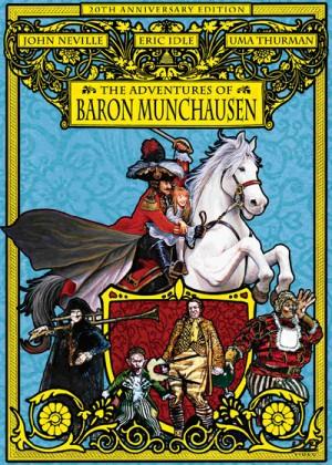 The Adventures of Baron Munchausen (1988) DVD9 + DVD5
