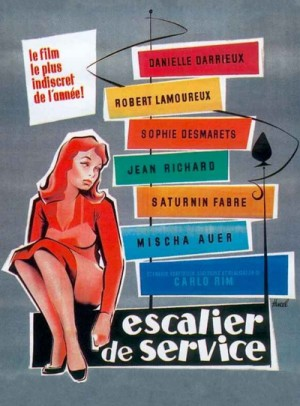 Escalier de service / Service Entrance (1954) DVD9