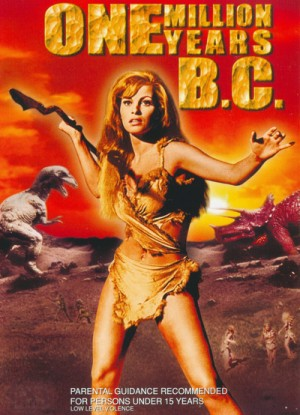 One Million Years B.C. (1966) DVD9