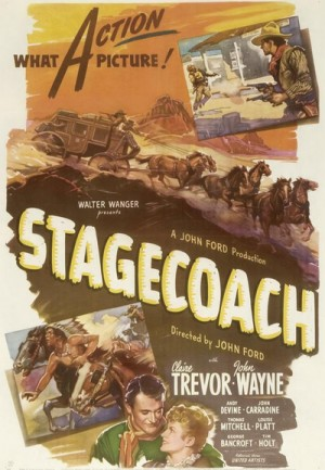 Stagecoach (1939), Bucking Broadway (1917) DVD9 + DVD5 Criterion Collection