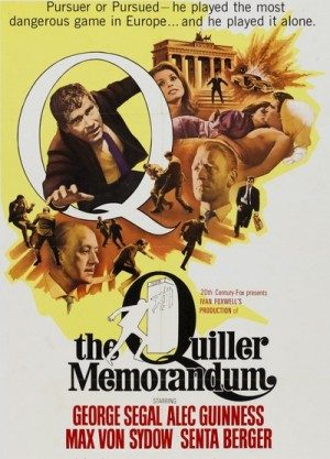 The Quiller Memorandum / Le secret du rapport Quiller (1966) DVD9