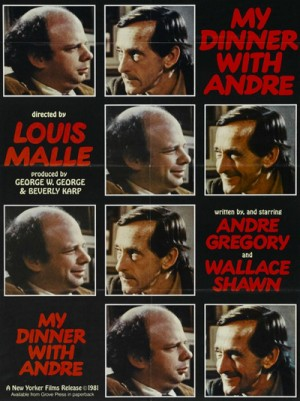 My Dinner with Andre (1981) 2 x DVD9 Criterion Collection
