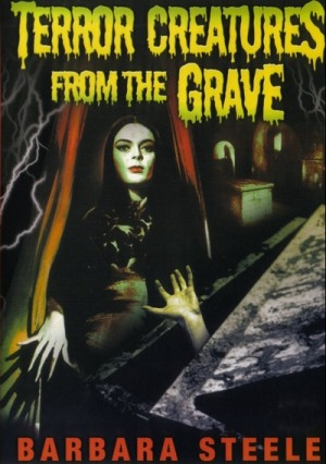 5 tombe per un medium / Terror Creatures from the Grave / Cemetery of the Living Dead / Five Graves for a Medium (1965) DVD5