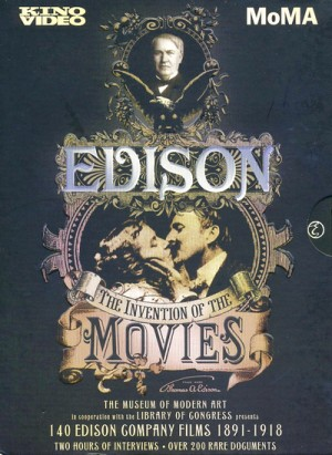 Edison: The Invention of the Movies (1888 - 1918) 4 x DVD9