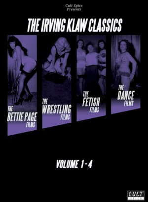 The Irving Klaw Classics: Volume 1-4 (1951-1956) 4 x DVD5