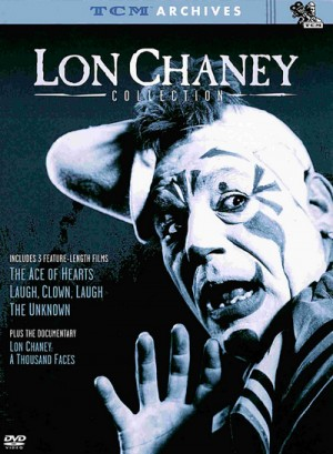 The Lon Chaney Collection: The Ace Of Hearts (1921), Laugh, Clown, Laugh (1928), The Unknown (1927), London After Midnight (1927) 2 x DVD9