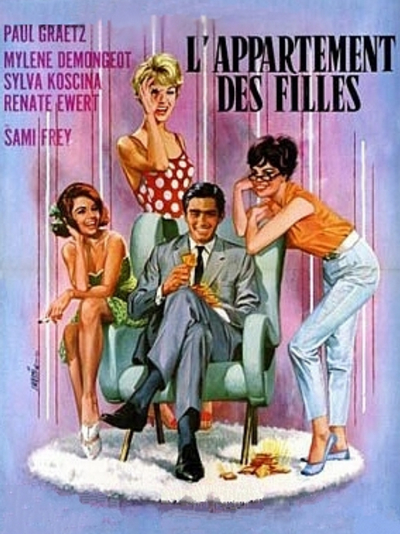 L'appartement des filles / Girl's Apartment (1963) DVD9 ...