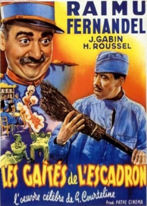 Les gaites de l'escadron / Fun in Barracks (1932) DVD5