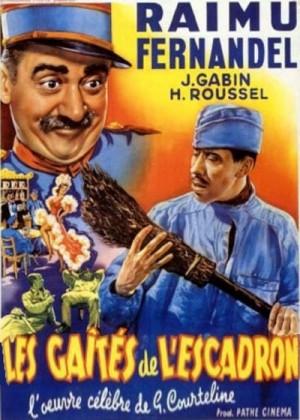 Les gaites de l'escadron / Fun in Barracks (1932) DVD5