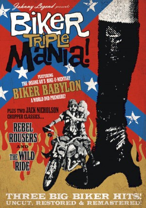 Biker Triple Mania! - The Wild Ride (1960), The Rebel Rousers (1970), Biker Babylon (1968) DVD9