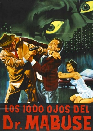 Die 1000 Augen des Dr. Mabuse / The Thousand Eyes of Dr. Mabuse / The 1,000 Eyes of Dr. Mabuse (1960) DVD9