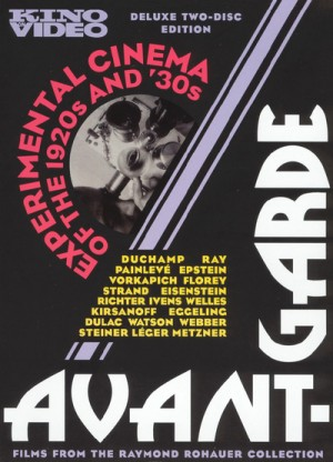 Avant Garde - Experimental Cinema of the 1920s & 1930s 2 x DVD9