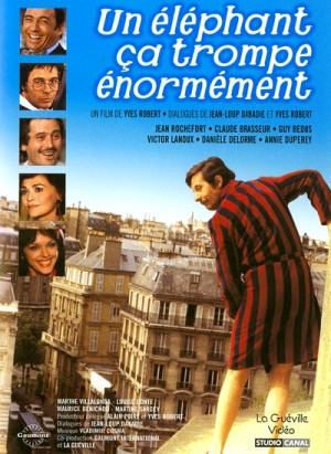 Un elephant ca trompe enormement / Pardon Mon Affaire / An Elephant Can Be Extremely Deceptive (1976) DVD9