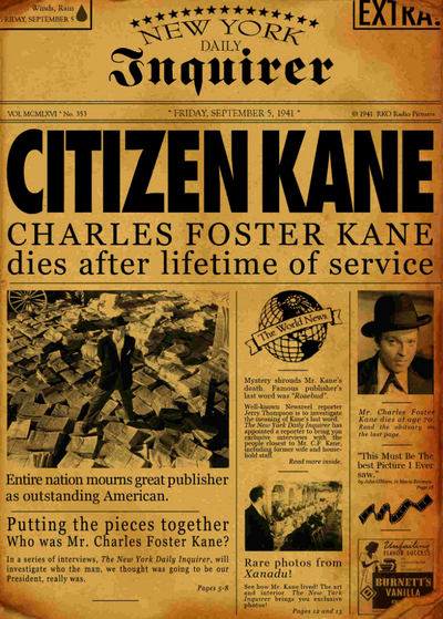 Citizen Kane Rosebud