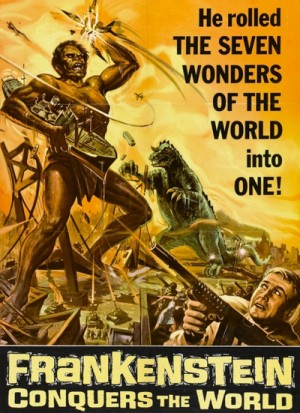 Furankenshutain tai chitei kaiju Baragon / Frankenstein vs. Baragon / Frankenstein Conquers the World (1965)