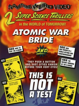 Atomic War Bride / Rat (1960), This Is Not a Test (1962) DVD9