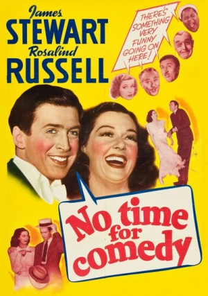 No Time for Comedy 1940
