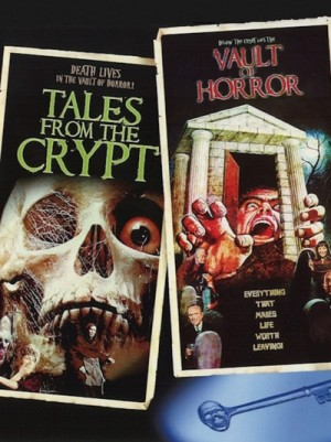 Tales from the Crypt (1972), The Vault of Horror (1973) 2 x DVD5