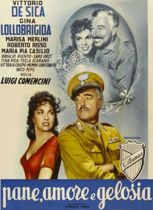 Pane, amore e gelosia / Bread, Love and Jealousy / Frisky (1954) DVD9
