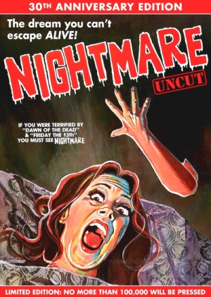 Nightmare / Nightmares in a Damaged Brain (1981) Uncut 30th Anniversary Edition