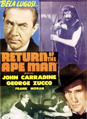 Return of the Ape Man 1944