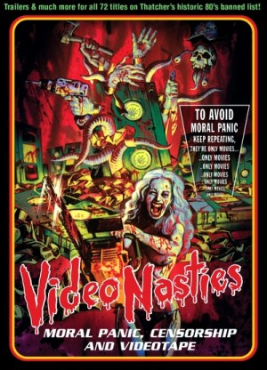 Video Nasties: The Definitive Guide - Video Nasties: Moral Panic, Censorship & Videotape (2010) 3 x DVD9