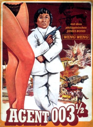 For Y'ur Height Only / Agent 003 1/2 (1981) DVD9 Collector's Edition Widescreen and Fullscreen versions