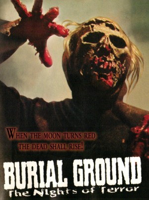 Le notti del terrore / The Zombie Dead / Burial Ground: The Nights of Terror (1981) DVD9, Blu-Ray