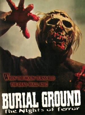 Le notti del terrore / The Zombie Dead / Burial Ground: The Nights of Terror (1981) DVD9, Blu-Ray