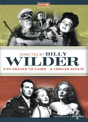 Directed by Billy Wilder: Five Graves to Cairo (1943), A Foreign Affair (1948) 2 x DVD5