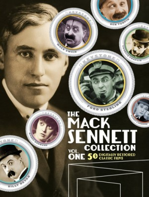 The Mack Sennett Collection (1909 - 1933) 3 x Blu-Ray