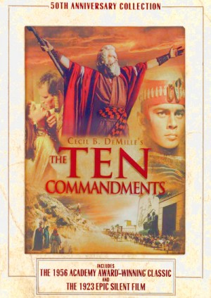 The Ten Commandments (1923, 1956) 3 x DVD9 50th Anniversary Collection