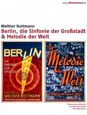 Berlin, die Sinfonie der Großstadt & Melodie der Welt / Berlin: Symphony of a Great City & Melody of the World (1920 - 1931) 2 x DVD9