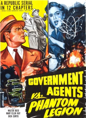 Government Agents vs Phantom Legion 1951