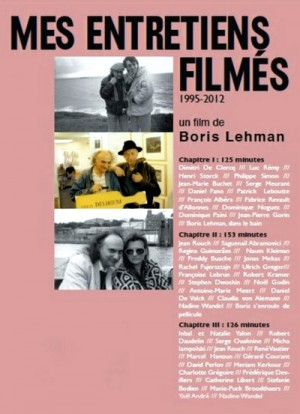 Boris Lehman: Mes entretiens filmes / My Conversations on Film (1995 - 2013) 3 x DVD5