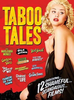 Taboo Tales: 12 Movie Collection 3 x DVD9