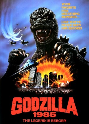 Gojira / Godzilla: The Legend is Reborn / Godzilla 1985 (1984) 3 x DVD5