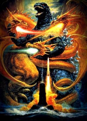 Godzilla vs King Ghidorah 1991