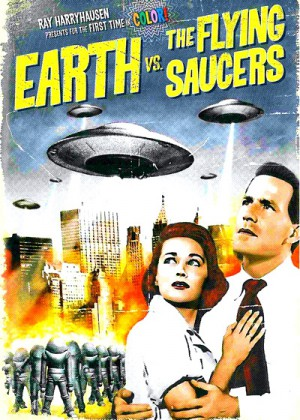 Earth vs. the Flying Saucers (1956) 2 x DVD9 Special Edition