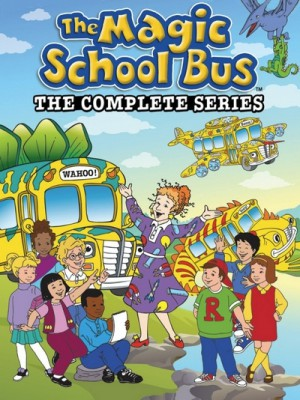 The Magic School Bus (1994–1998) 8 x DVD The Complete Series