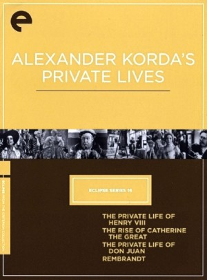 Eclipse Series 16 Alexander Korda Private Lives