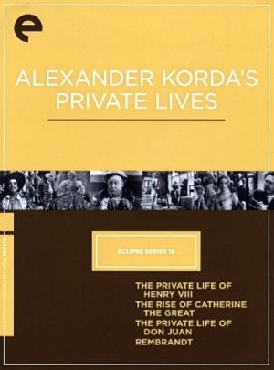 Eclipse Series 16 Alexander Korda Private Lives