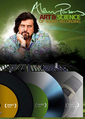 Alan Parsons' Art & Science of Sound Recording (2010) 3 x DVD9