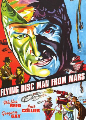 Flying Disc Man from Mars 1950