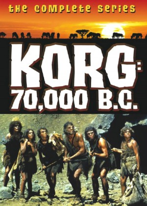 Korg: 70,000 B.C. (1974) 2 x DVD9 The Complete Series