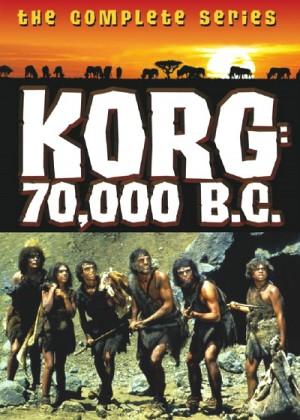 Korg: 70,000 B.C. (1974) 2 x DVD9 The Complete Series