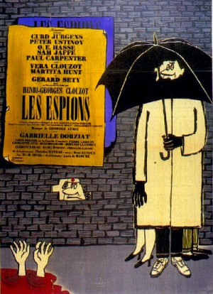 Les espions / The Spies (1957) DVD9