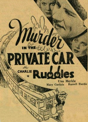 Murder in the Private Car 1934